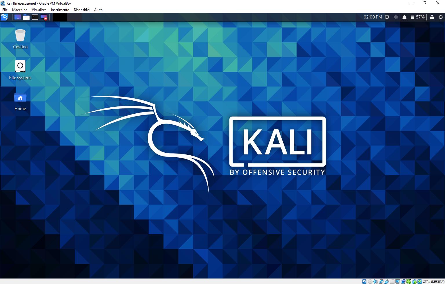 Installazione Kali Linux